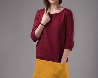 Long sweatshirt or short dress