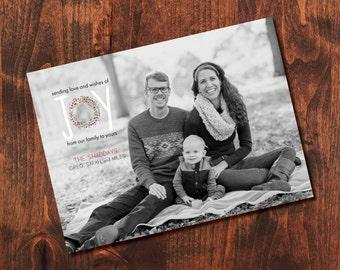 Love + Joy Holiday Photo Card