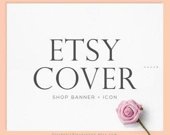 premade etsy cover banner / shop banner / cover banner / new shop banner