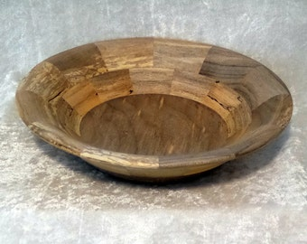 Variegated Maple Wood Bowl -  Food safe