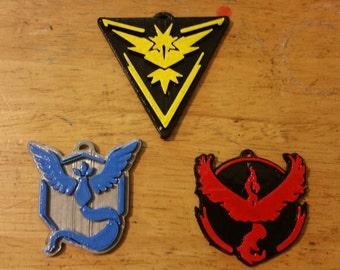 Pokémon Go team badges