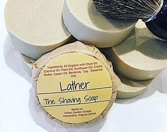 Men's Shaving Soap - Shaving Soap - Vegan Shaving Soap - Vegan Soap - Organic Shaving Soap - Organic Soap - Gift for Him - Masculine Scent