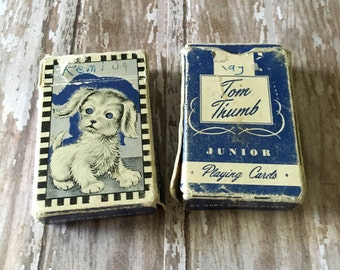 Miniature Playing Cards Etsy