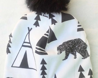 Black Bear Baby SLouchie