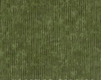 Sale! Hoffman Fabrics - Olive Green Stripe L7300-96 / Dark and Light Olive Green, Medium Green Thin Stripe Fabric