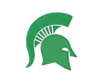 Michigan State Spartans Embroidery 7 Sizes!