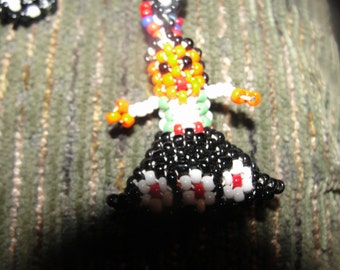 Indian wish girl necklace