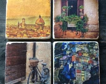 Florence Tile Set x4