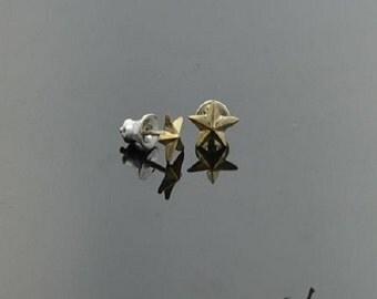 Earrings Stars Bronze