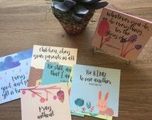 Kid's Scripture Cards