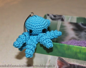 Cute octopus crocheted