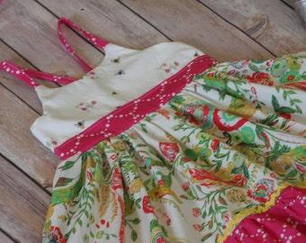 Flower Child dress, girls boutique dress, girls clothing, girls dresses, boutique clothing, girls flower dress, girls sundress