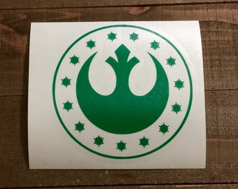 Star Wars New Republic Insignia Decal