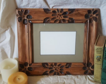 Hand Carved Frame
