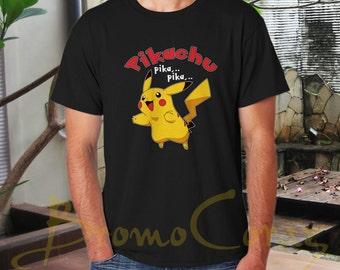 Pikachu Cute Shirt Pikachu Shirt Pikachu Tshirt Pikachu T Shirt Pikachu Tee Pokemon Shirt Pokemon Tshirt Pokemon Tee Funny Shirt