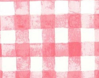 UK SHOP Sommer Bloom Painted Gingham by Sarah Jane For Michael Miller