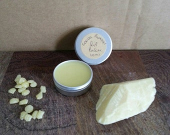 Homemade Cocoa Butter Lip Balm