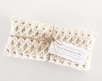 Organic Hand Crocheted Aromatherapy Eye Pillow