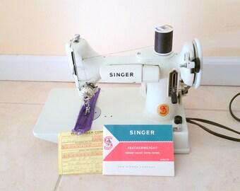 Vintage Singer 221 K Sewing Machine