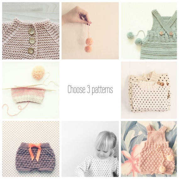 Choose 3 patterns and - Save up to 35 %