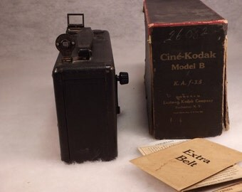 Cine-Kodak model B antique box video camera