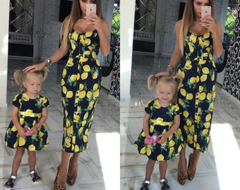Mother daughter matching dress  Etsy DE