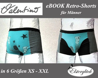 ebook VALENTINO boxer briefs sewing pattern