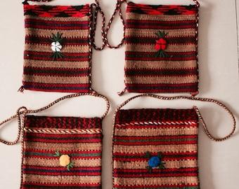 Handmade bag, turkman style bag
