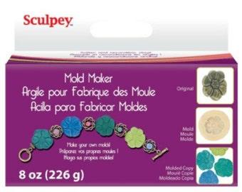 Sculpey Polyform Mold Maker, 8-Ounce Cream