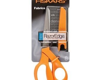 Fiskars RazorEdge Fabric Shears, 8-Inch (Scissors)