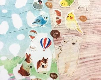 Animal Masking Stickers - Outdoor Version