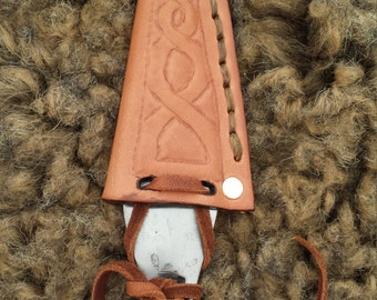 Leather Sheath for Spear Tip