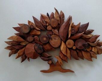 Wood Mosiac