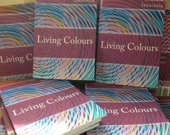 Living Colours Poetry Book by Jannietta