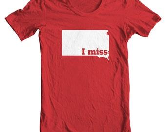 South Dakota T-shirt - I Miss South Dakota - My State South Dakota T-shirt