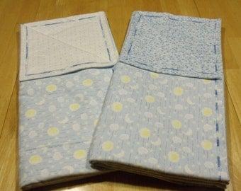 Receiving Blanket Set- Baby Blanket Set- Flannel Blanket Set- Baby Boy Blanket Set