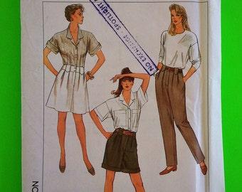 "80s Pants, Shorts, Skirt, UNCUT, F/F, Size 12, Waist 26 1/2"","