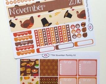 T96    November Thanksgiving Monthly Kit