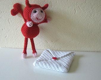 Love Devils crochet pattern | Valentine's day | crochet pattern love letter | romantic | heart | arrow | amigurumi Valentine | I love you