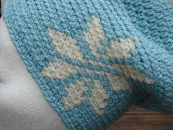 Tapestry Crochet Tutorial For Beginners : Crochet pattern hat with 4 stars crochet slouchy womens ...