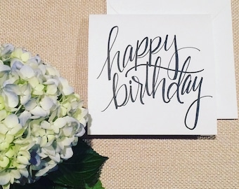 Card Set of 4: Happy Birthday!