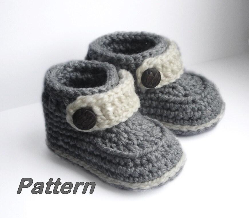 Crochet Boy Shoes