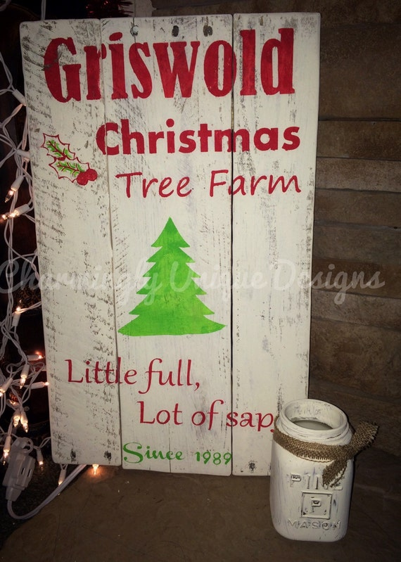 National Lampoon Christmas Vacation Rustic By