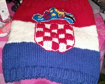 Cache neck flag Croatia adult one size