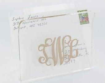 Clear Acrylic Mail Holder
