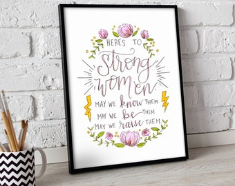 Strong Women print