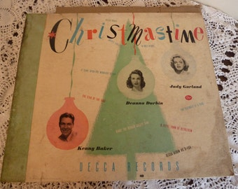 Christmas time records (4- 78's) copyright 1946