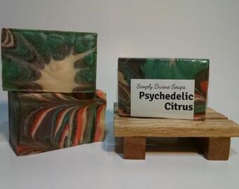 Psychedelic Citrus Soap