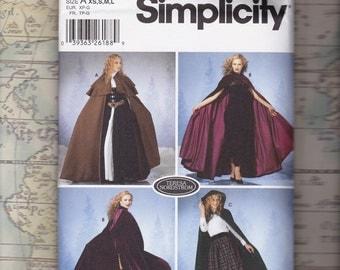 Cloak Pattern by Teresa Nordstrom, Simplicity 5794