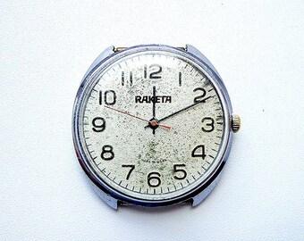 Raketa made in USSR vintage mens watch